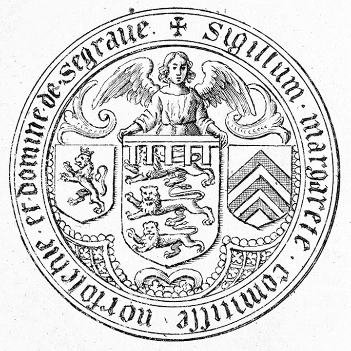 The seal of Margaret Brotherton