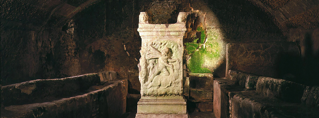 The mithraeum at San Clemente Basilica, Rome