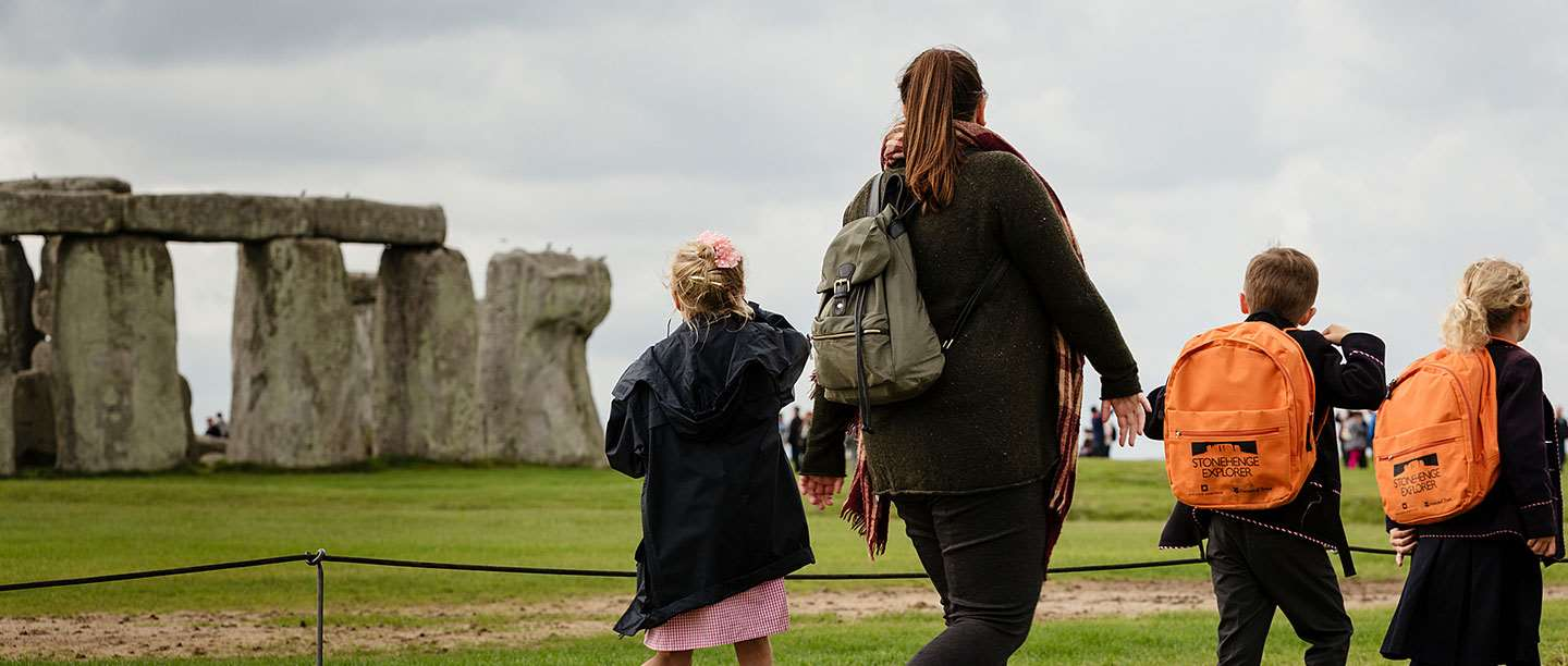 A school visit to Stonehenge
