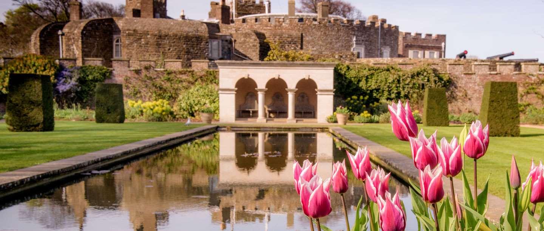 Image: Spring at Walmer Castle
