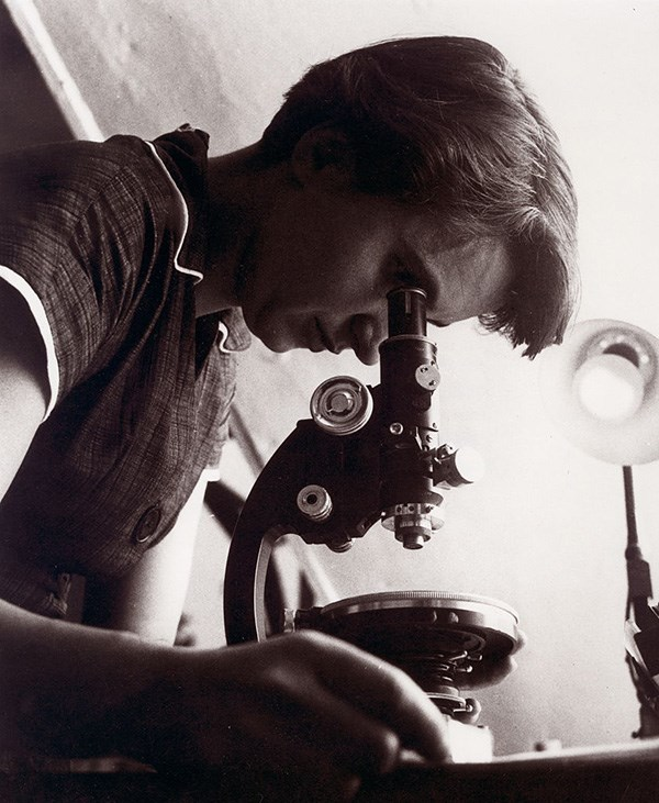 Rosalind Franklin, whose research helped Watson and Crick identify the structure of DNA