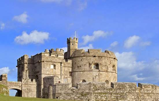 Exterior view of Pendennis Castle, Cornwall
